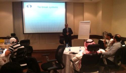 FIDE Arbiters Seminar-Eastern Region  SAUDI ARABIA  2015