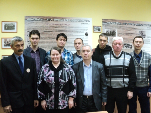 2015 RUSSIA-BARNAUL FIDE Arbiters  Seminar