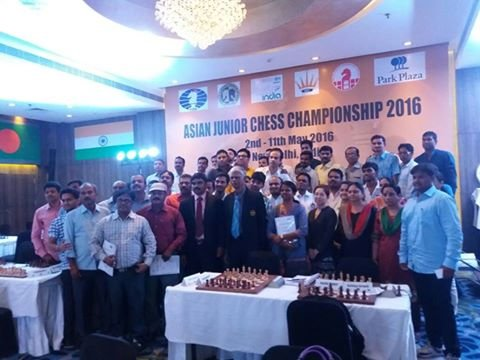 2016 INDIA - NEW DELHI  FIDE Arbiters  Seminar