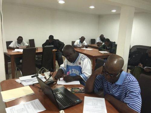 FIDE Arbiters Seminar-Monrovia LIBERIA  2016-2