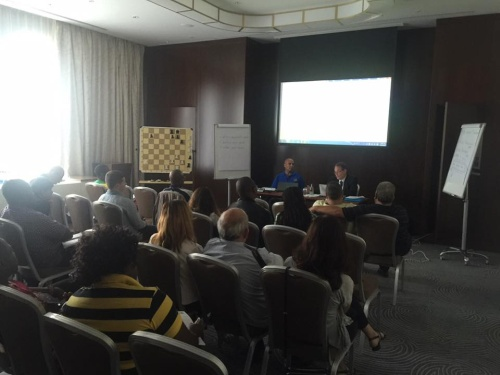 FIDE Arbiters Seminar-BAKU OLYMPIAD  2016-2