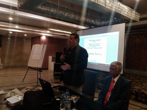 2017 INDIA - NEW  DELHI  FIDE Arbiters Seminar 1
