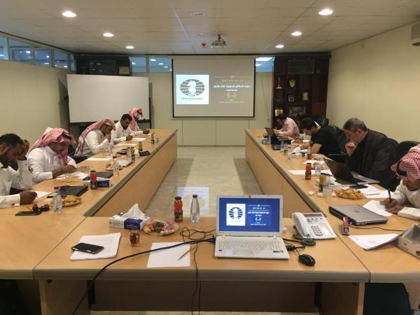 FIDE Arbiters  Seminar-Riyadh SAUDI ARABIA 2 2017-2