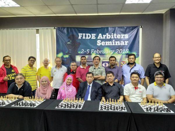 2018 MALAYSIA FIDE Arbiters Seminar