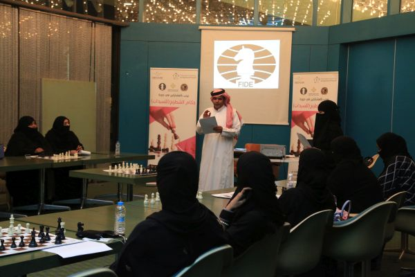 FIDE Arbiters Seminar-Jeddah SAUDI ARABIA  2018-1